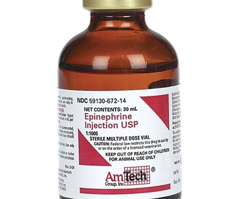 ANAPHYLAXIS -EMERGENCY TREATMENT WITH EPINEPHRINE